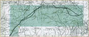 Hernando De Soto Route Map by Diocesan History Beginnings Dioscg