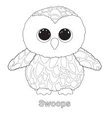 swoops the owl ty beanie boo ty beanie boos pinterest beanie