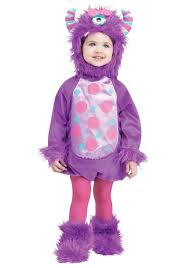 Lil Monster Halloween Costume by Infant Monster Baby Purple Costume
