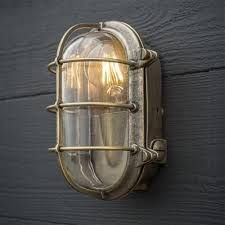 Bulkhead Outdoor Lights Bulkhead Outdoor Light In Antiqued Brass Antique Brass Lights