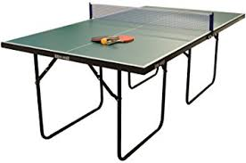 ping pong table tennis wollowo green 3 4 size junior table tennis ping pong table foldable