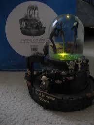 halloween snow globe pier luc simard the nightmare before christmas halloween town