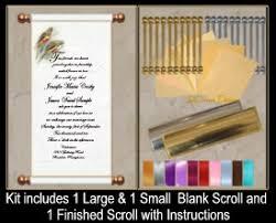 Scroll Invitation Rods Buy Online Scroll Kits Do It Yourself Invitation Scrolls