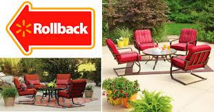 Patio Furniture From Walmart by Walmart Com Big Savings On Patio Furniture U2013 Hip2save
