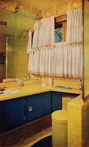 blue and yellow bathroom ideas 180 best bathroom images on retro bathrooms 1950s