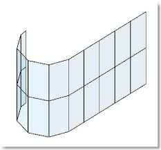 Curtain Wall Mullion Revit Revit Elemental Simple Curved Glazing In Revit Curtain Walls