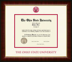 ohio state diploma frame frame the ohio state diploma frames church hill