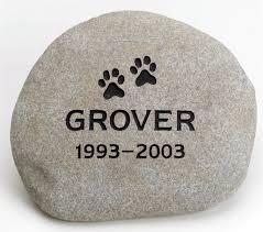 pet memorial stones pet memorials river rock keepsake stones