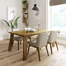 Beige Dining Room Lincoln Oak Table With 4x Lincoln Beige Chairs Victoriaplum Com
