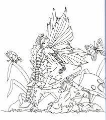 87 best fairies on mushrooms images on pinterest coloring angel