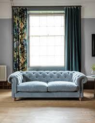 Chesterfield Sofa Velvet Fabric by Velvet Chesterfield Sofa By Rose U0026 Grey