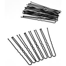 hair pins 20pcs black metal thin u shape hair for women hairpins hair
