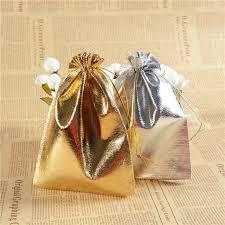 gold organza bags drawstring pouch bag 11 16cm organza bags gold silver satin