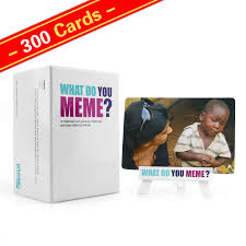 Meme Game - wholesale 300 cards what do you meme adult party game factory