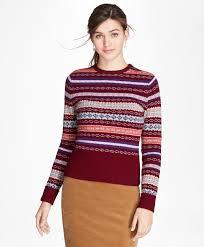 fair isle sweater dress lambswool fair isle sweater brothers