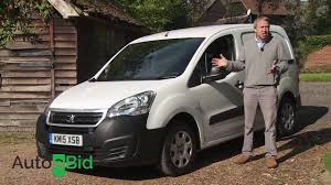 peugeot van peugeot partner van 2016 video review autoebid youtube