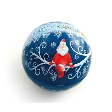 Blue Christmas Decorations The Range by Tinpak Tin Boxes Company Makes A Wide Range Of Ball Shaped Tin