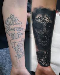 tattoos by alan aldred tattoos religious cross and