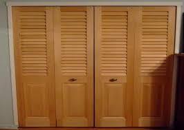Wood Closet Doors Image Folding Closet Doors With Wood Design Ideas Decors How