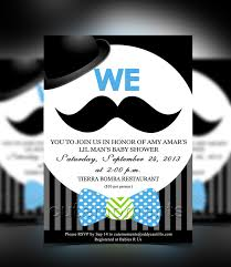 mustache baby shower invitations cutemoments by jr