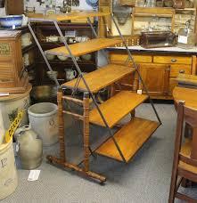 Wood Bakers Rack Bargain John U0027s Antiques Blog Archive Rare Antique Wooden And