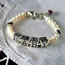 infant name bracelet infant bracelets