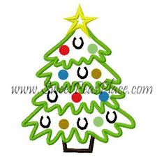 horseshoe christmas tree western designs shoe christmas tree applique embroidery