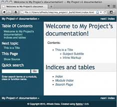 html themes sphinx easy and beautiful documentation with sphinx