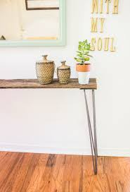 hairpin leg side table tutorial going home to roost