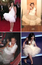 swan dress whorange