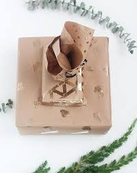 brown paper wrapping revisiting the basics stylish ways to wrap gifts in brown paper