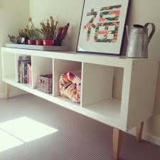 ikea legs hack ikea hack expedit bookcase with staibed legs from bunnings makes