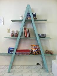 24 Ladder Bookshelf Plans Guide by Best 25 Corner Ladder Shelf Ideas On Pinterest Ladder Display