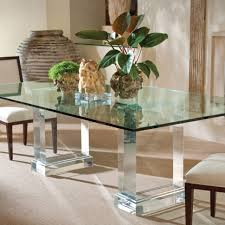 dining room decorations glass dining table decor ideas glass