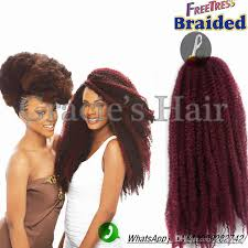 difference between afro twist and marley hair afro kinky synthetic braiding hair burgundy 18inch 118 afro kinky