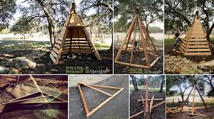 Goods Home Design Diy Diy Cedar Play Teepee Home Design Garden U0026 Architecture Blog