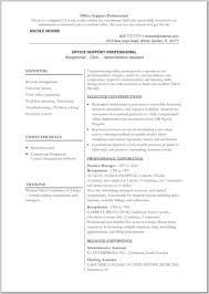 Related Experience Resume Resume Microsoft Word Resume For Your Job Application