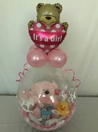 gift inside a balloon it s a girl gift inside a balloon balloon creations