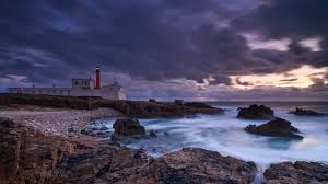 rocky shore wallpapers lighthouses beautiful portuguese lighthouse rocky shore portugal
