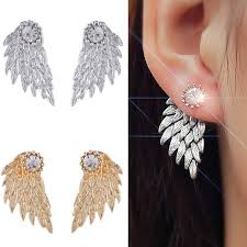 wing earrings top 10 angel wing earrings posts on