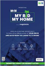 my bid m3m my bid my home powered by magicbricks ad advert gallery