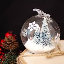 Glass Christmas Tree Ornament - glass christmas tree baubles