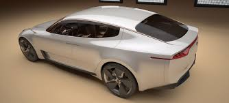 Rwd Kia Kia Previews 4 Door Rwd Coupe Concept For Frankfurt