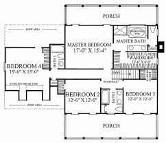 dimensioned floor plan southern style house plan 4 beds 3 00 baths 2631 sq ft plan 137 146