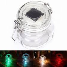 solar powered led color changing light sensing transparent glass
