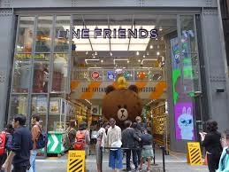 Line Store Line Friends Store Shopping In Seoul
