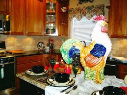 Kitchen Decorations Ideas Theme by Country Kitchen Decor Ideas With Rooster Theme Kitchen U0026 Bath