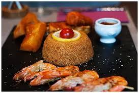 spécialité africaine cuisine la carte restaurant la braise dorée 75018