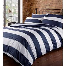 Navy Blue Bedding Set by Navy And White Striped Bedding Sets Fun Ideas Navy And White