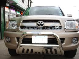 nissan armada brush guard bumper protection vanguard offroad products